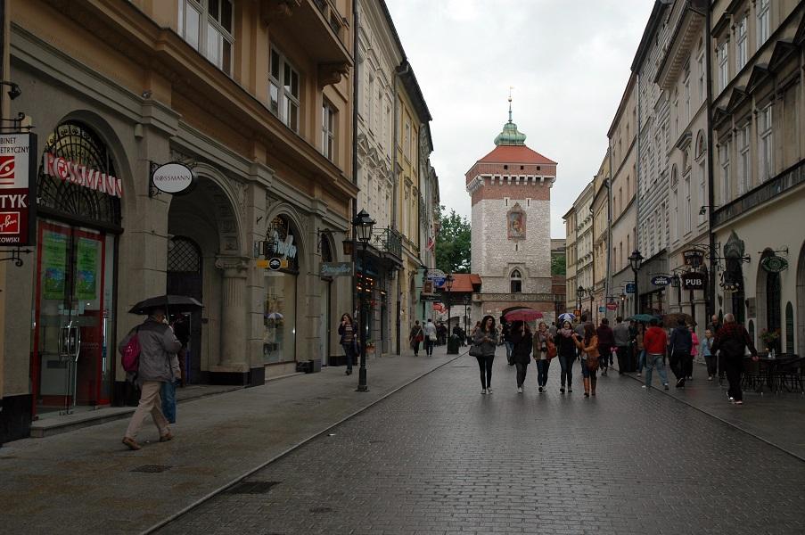 via Floriańska_Cracovia_3 giorni