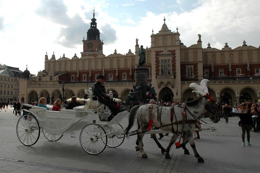 weekend a cracovia_3 giorni_piazza mercato centrale