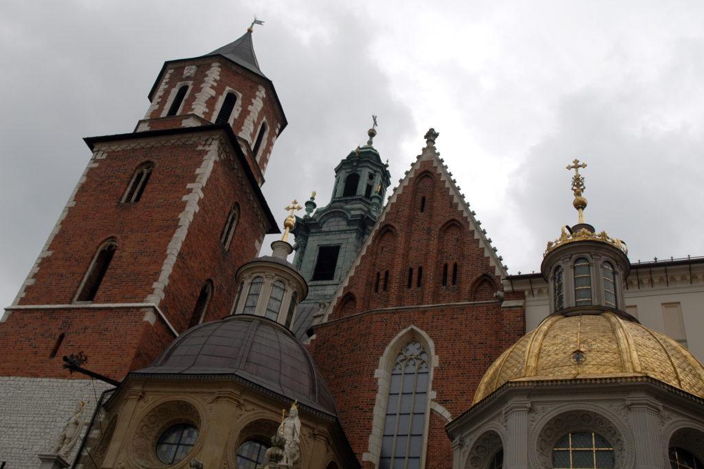 la Cattedrale di Cracovia nel Wawel