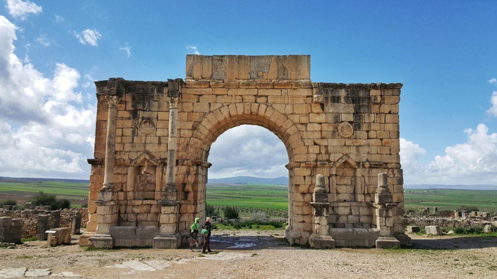 arco di trionfo_cosa vedere a volubilis in marocco