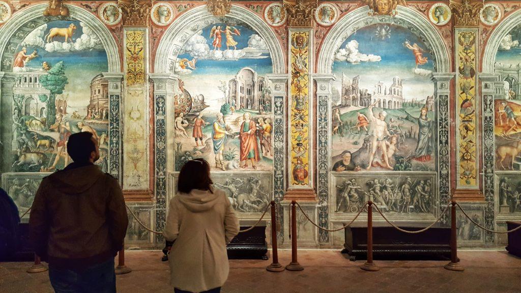 Sala dello Zodiaco_Palazzo d'Arco a Mantova