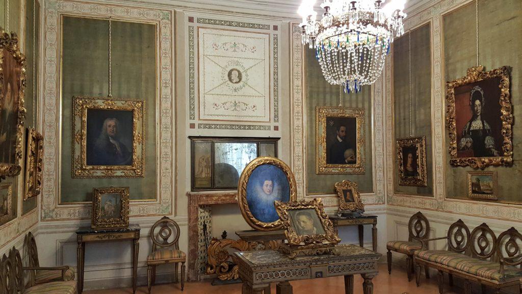 interni di palazzo d'arco_salottino_palazzi di mantova