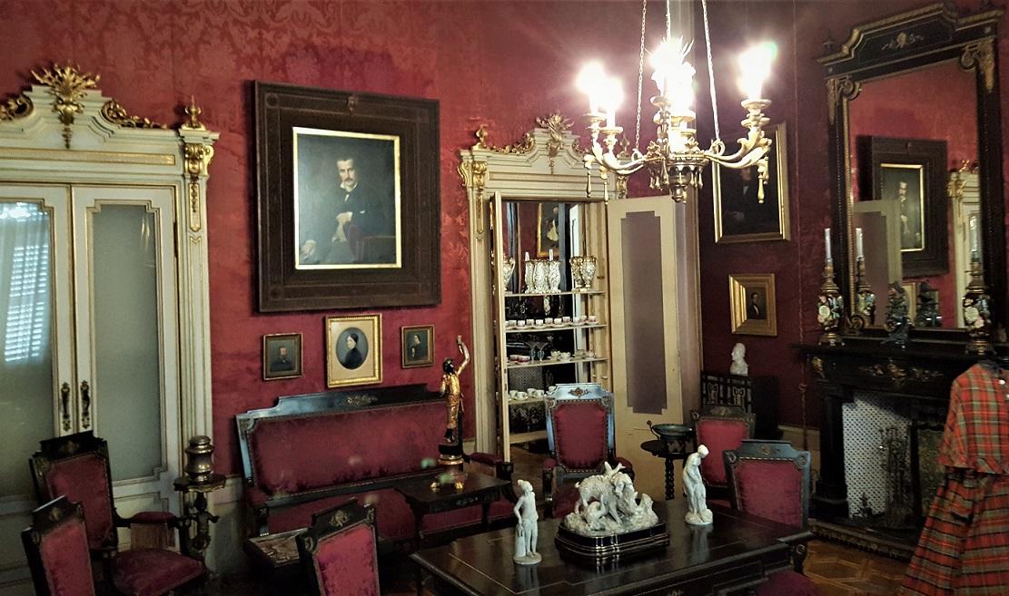 interni di palazzo d'arco a mantova_sale interne da visitare
