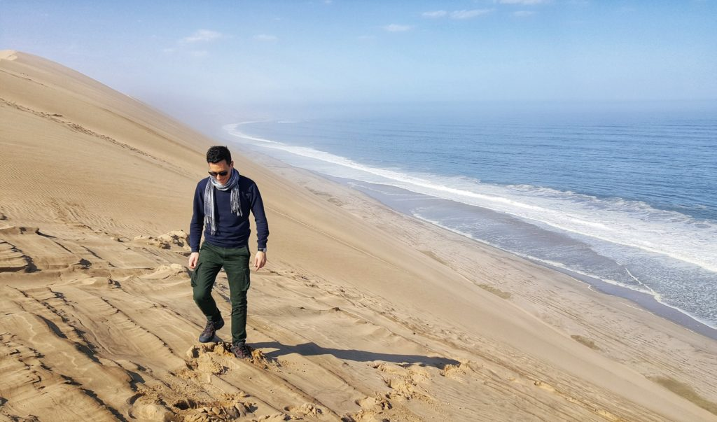 Le dune di Sandwich Harbour