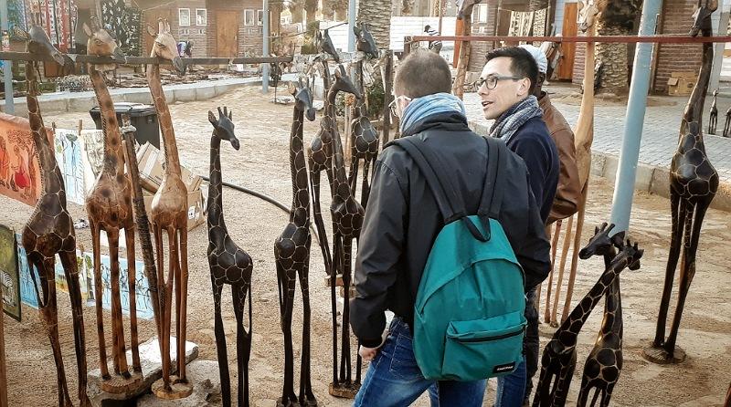 souvenir_namibia_mercato artigianale swakopmund