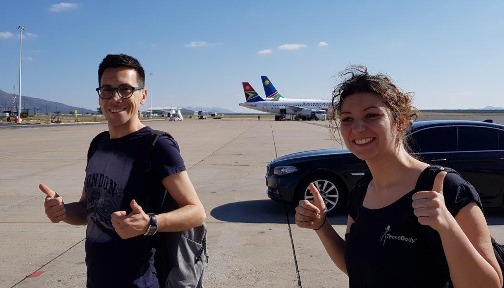 arrivo in namibia_volo_diario di viaggio