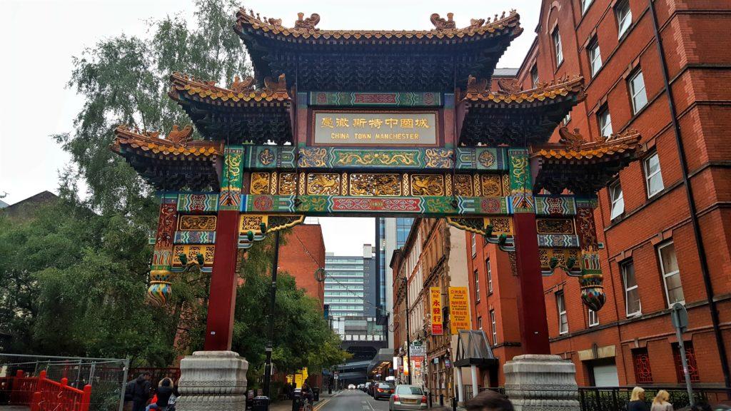 Manchester cosa vedere chinatown