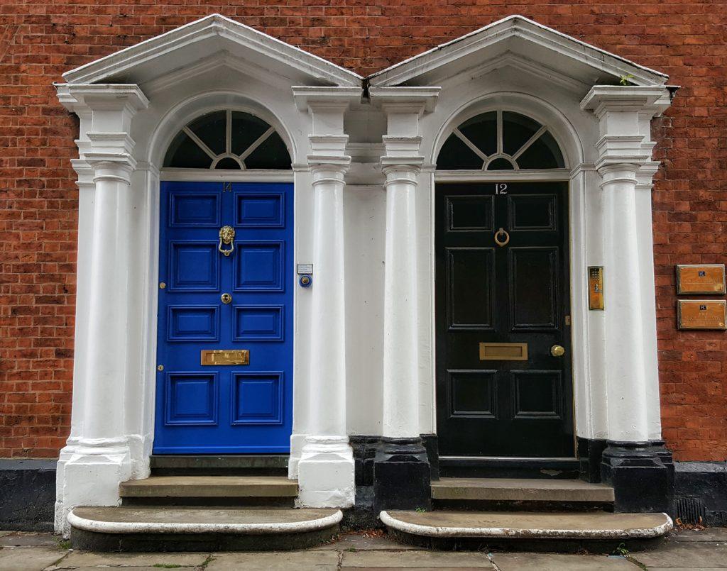 Porte colorate a Manchester