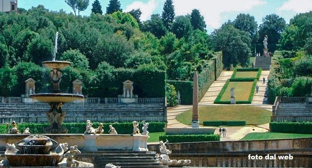 Giardini di Boboli a Firenze