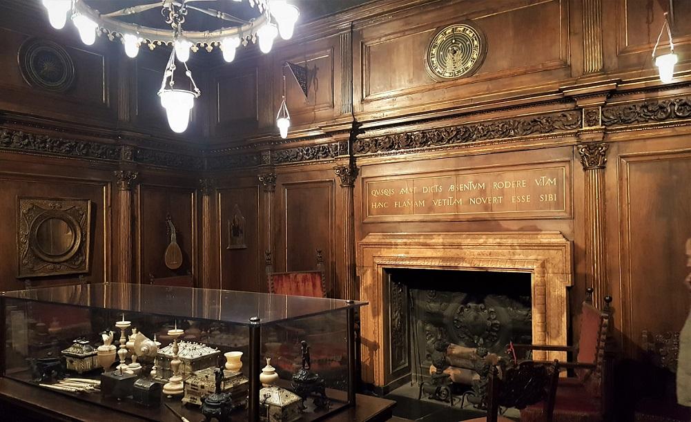 interni della casa museo bagatti valsecchi di Milano
