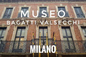 facciata del museo bagatti valsecchi a milano