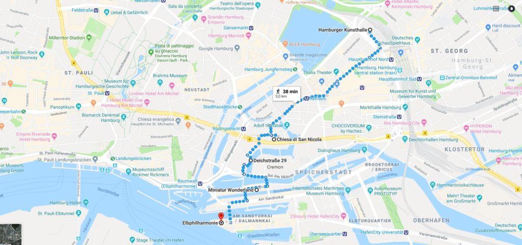 itinerario_amburgo_mappa_germania
