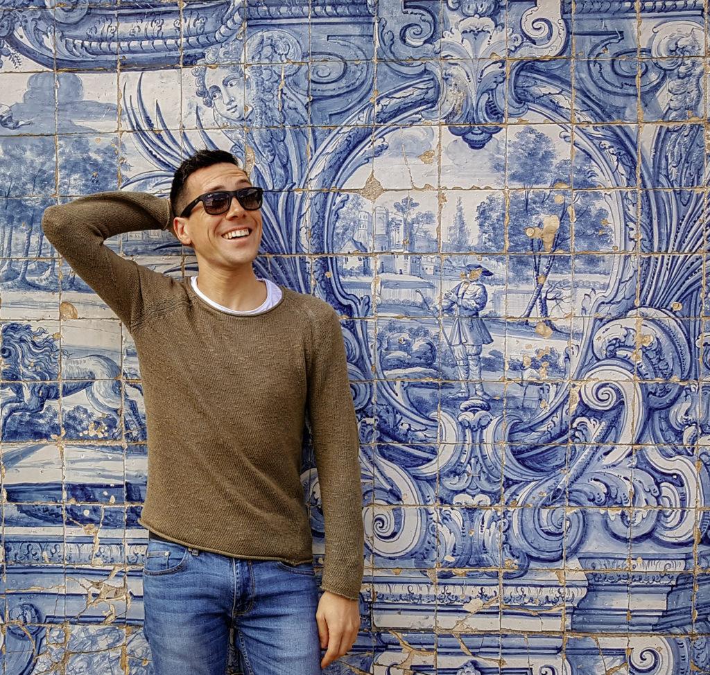 Azulejos alla Sé di Porto