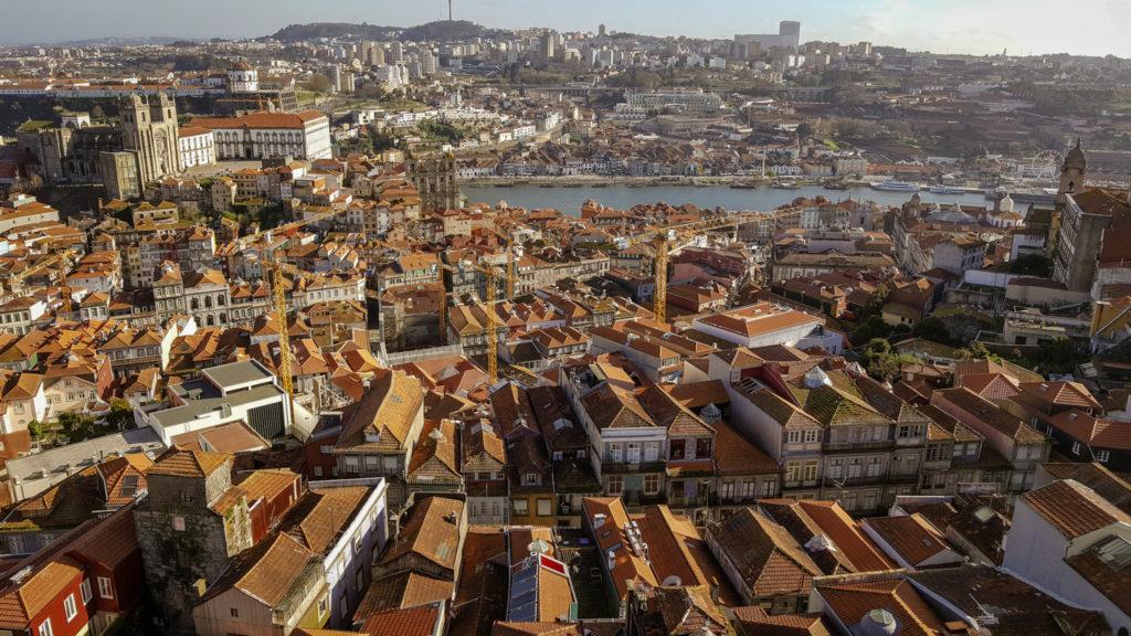 panorama di Porto_TORRE DOS CLERIGOS