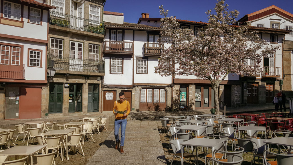 Praca de Sao Tiago a Guimaraes_cosa vedere_portogallo