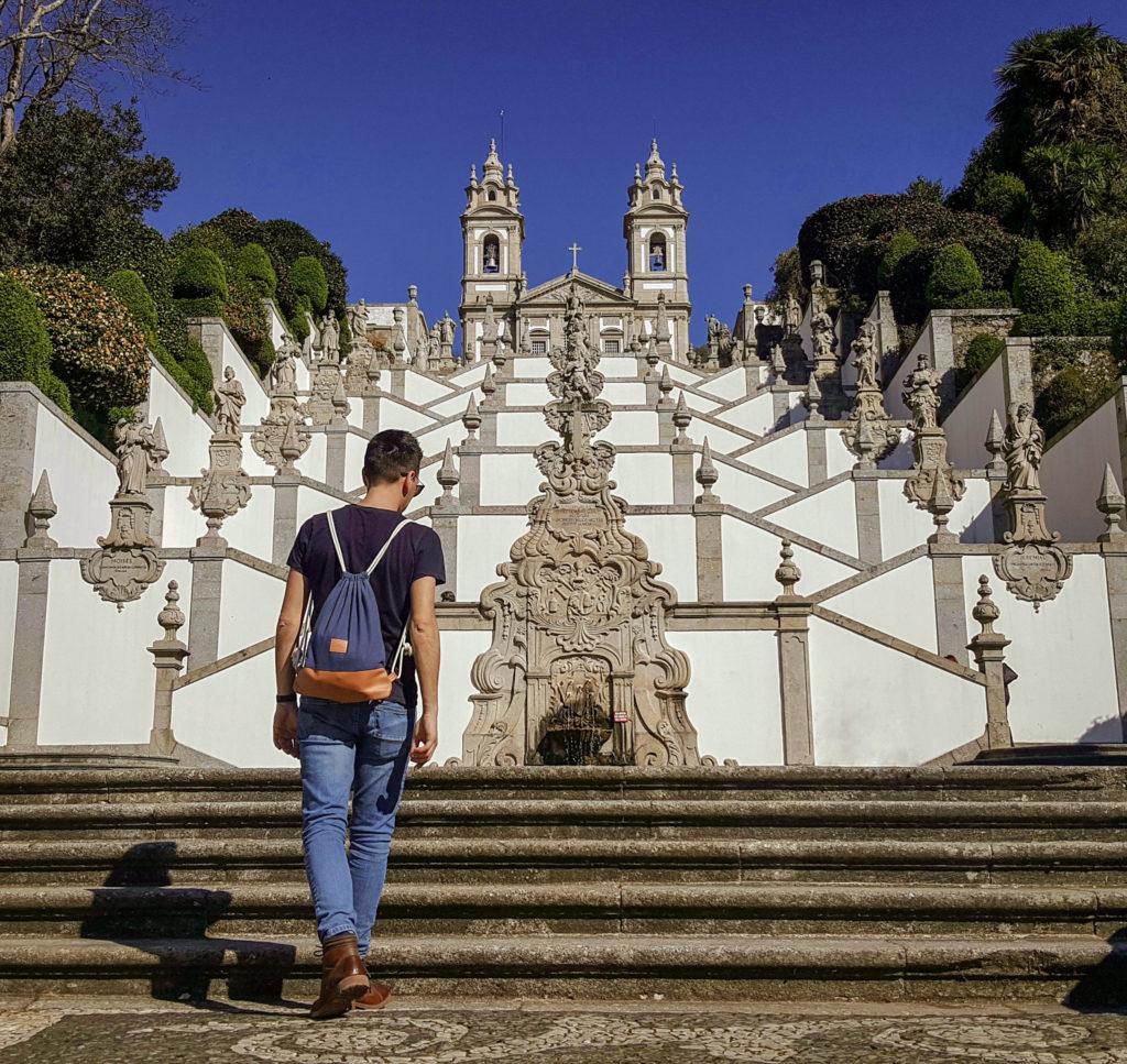 Cosa vedere a Braga_La scalinata del Bom Jesus do Monte