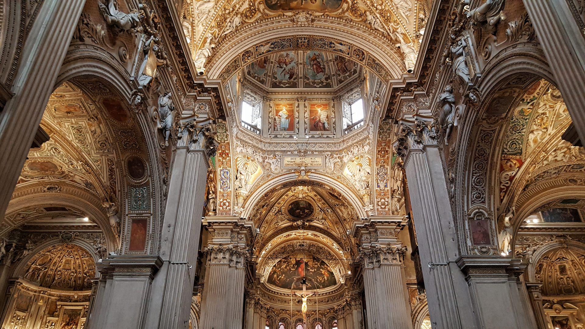 Soffitto di Santa Maria Maggiore a Bergamo