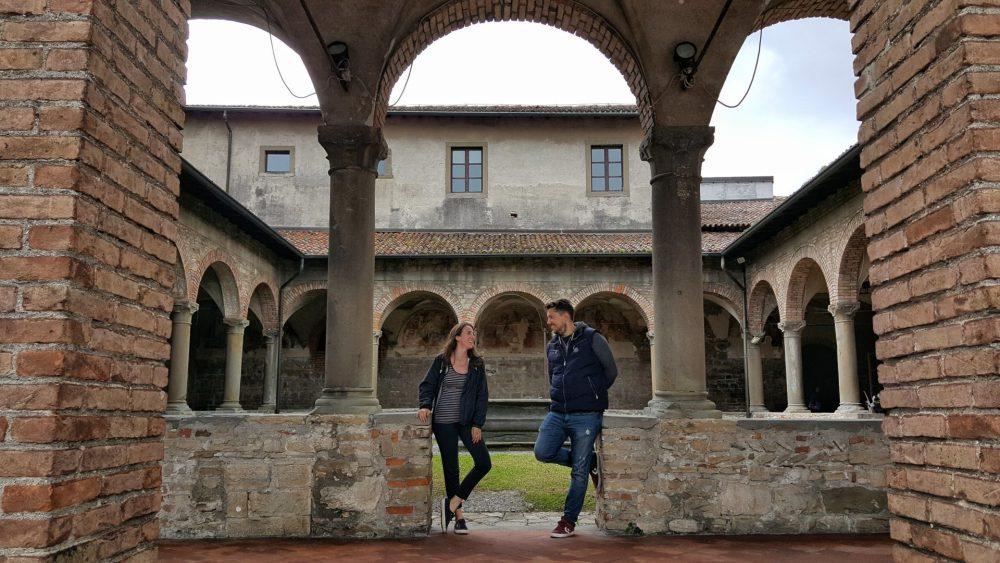 Chiostro di San Francesco a Bergamo alta