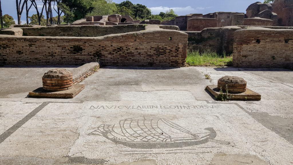 mosaici a ostia antica roma
