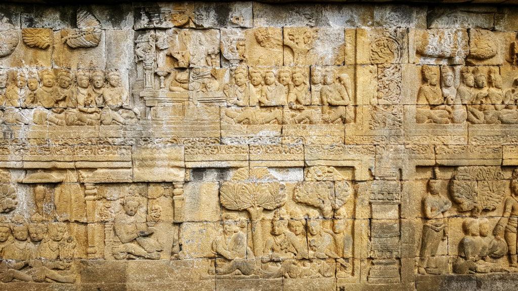 bassorilievi a Borobudur_cosa vedere