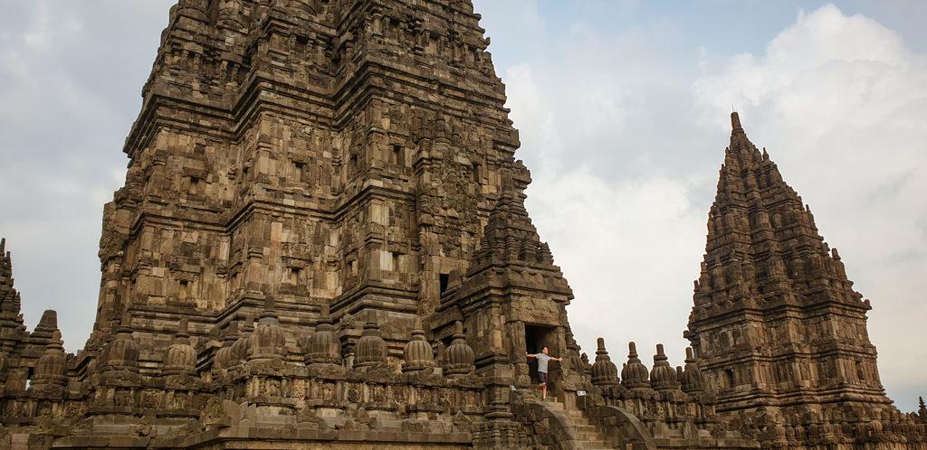 Prambanan e Borobudur in un giorno_escursione Yogyakarta_java_indonesia