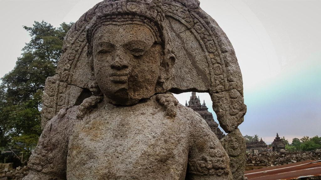 Plaosan Temple vicino a Jogyakarta
