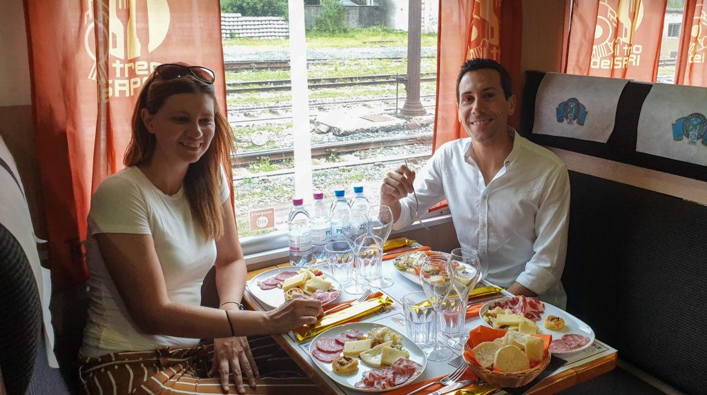 pranzo treno dei sapori