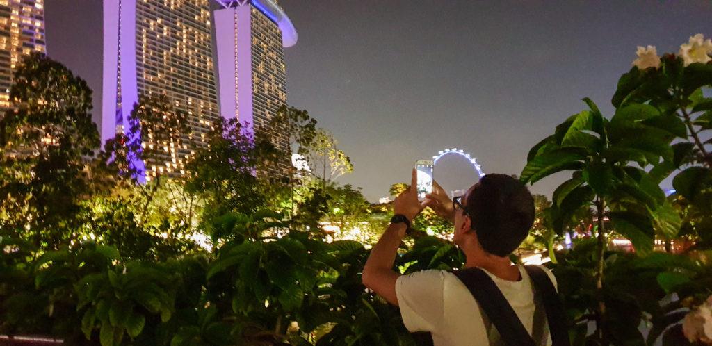 Il Marina Bay Sands: cosa fare a Singapore alla sera