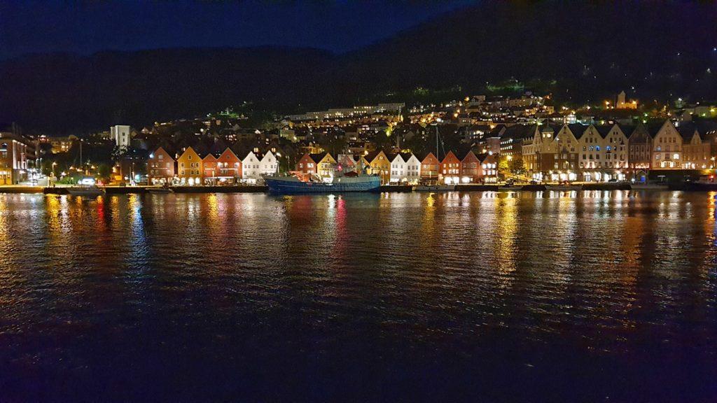 Dove dormire a Bergen_vista sul Bryggen dal Carlion Hotel Admiral