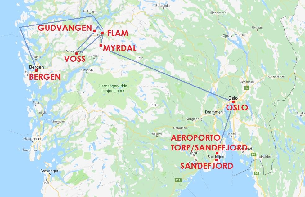 6 giorni in norvegia