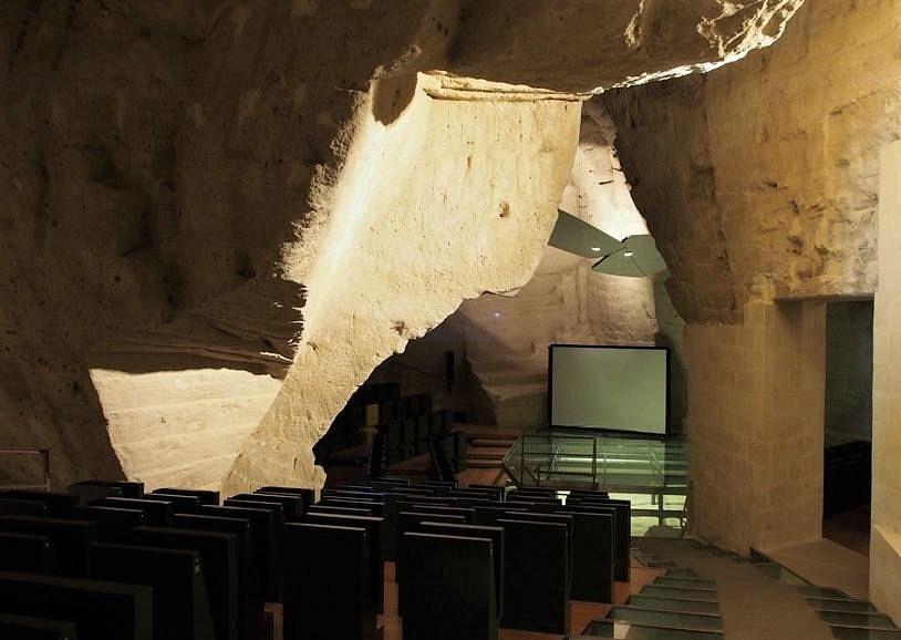 Casa Cava in cui è stato realizzato l'Auditorium di Matera
