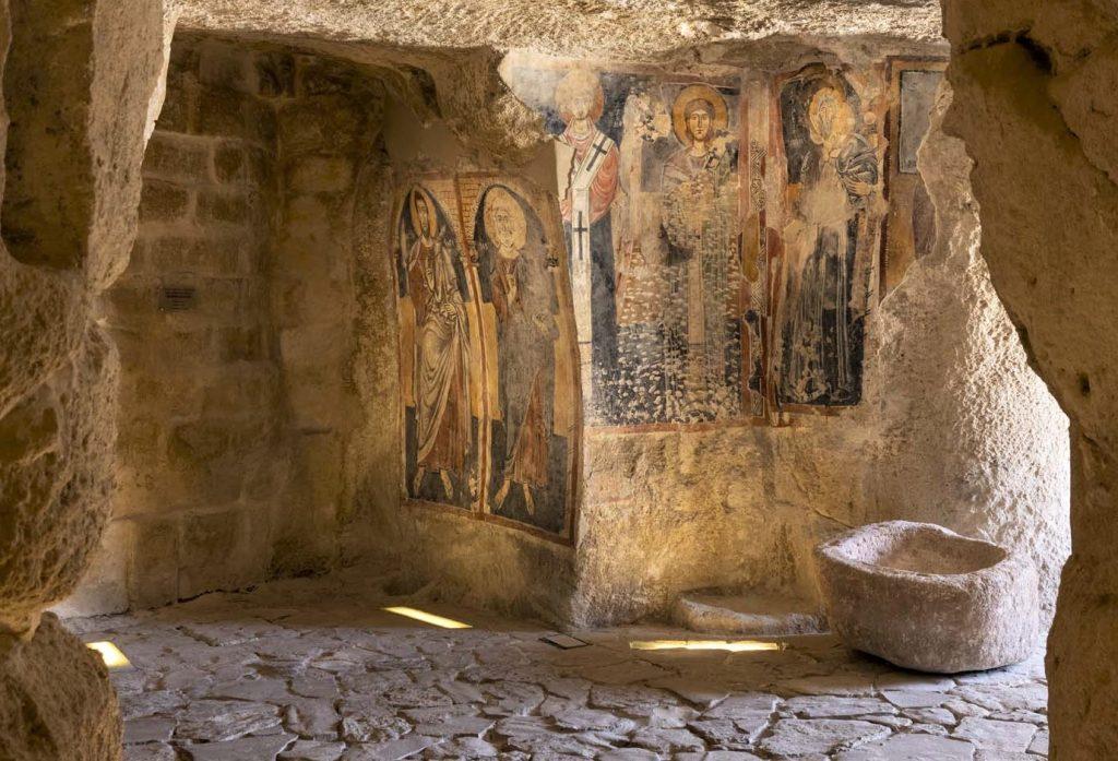 chiesa di Santa Maria Idris_affreschi: cosa vedere a matera