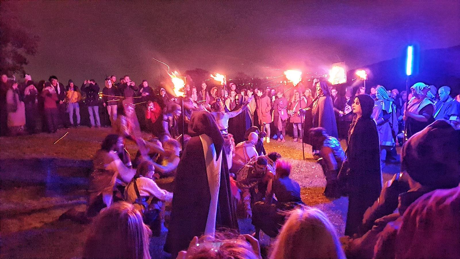 Samhuinn Fire Festival Halloween Edimburgo