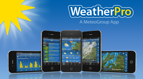 WEATHERPRO app utili per viaggio