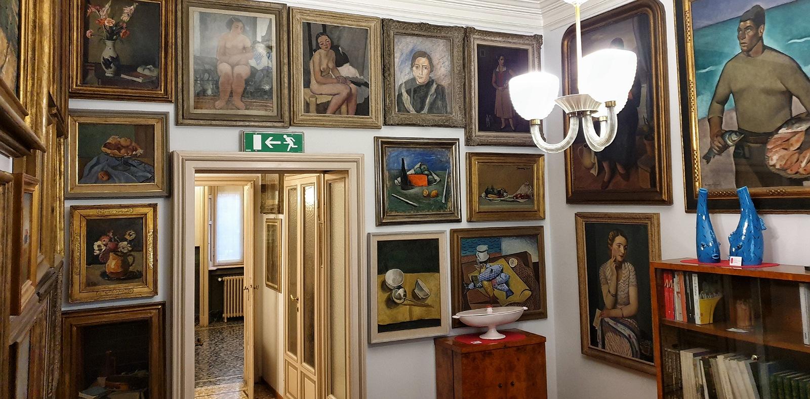 quadri collezione casa museo boschi di stefano milano