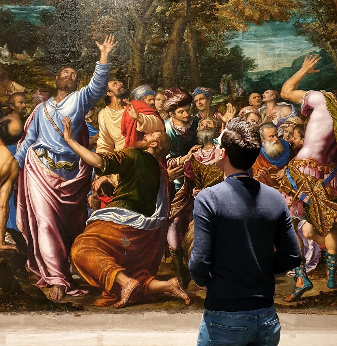 visita mostra peterzano bergamo accademia carrara