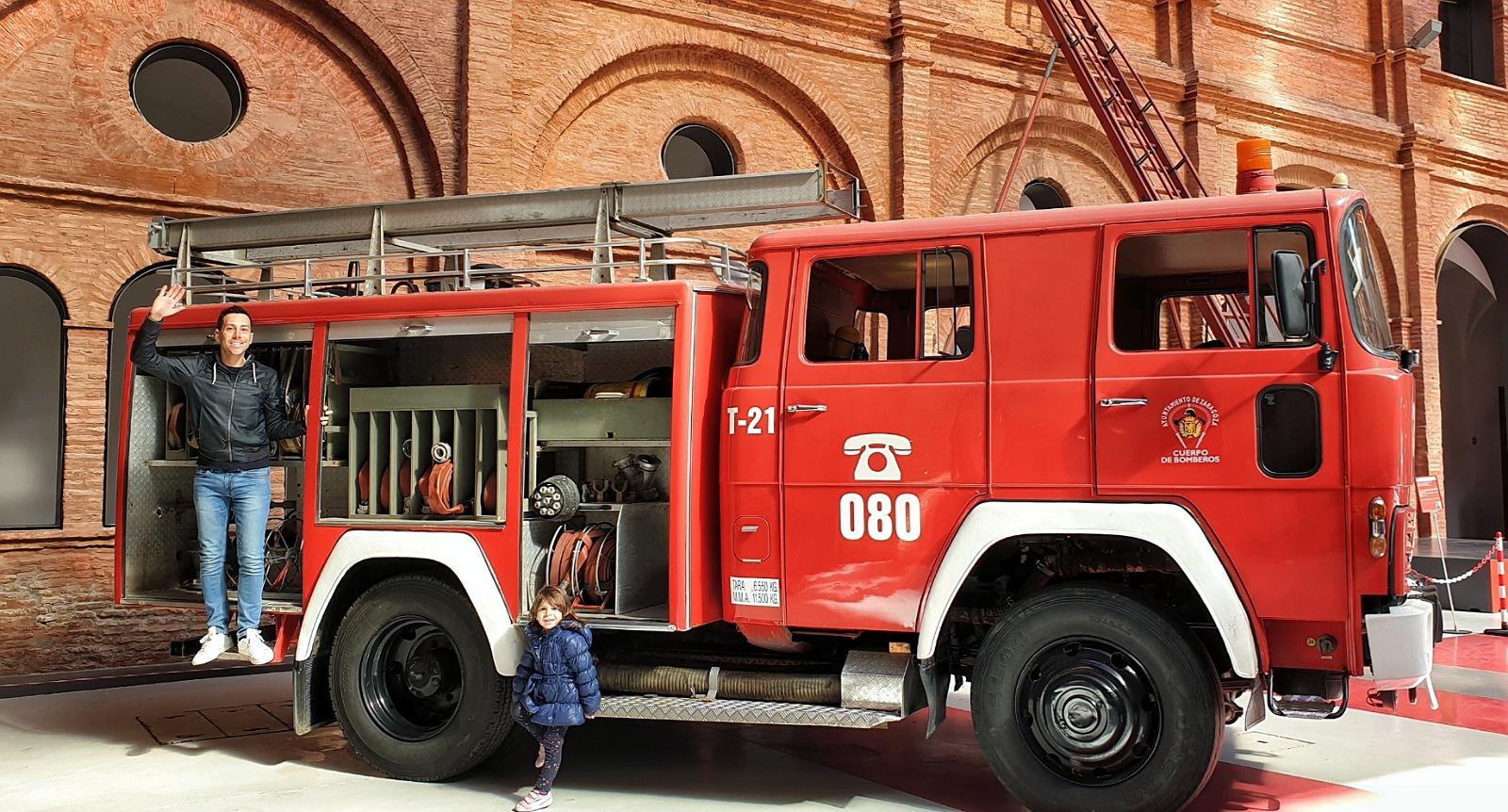zaragoza cosa vedere museo del fuoco pompieri