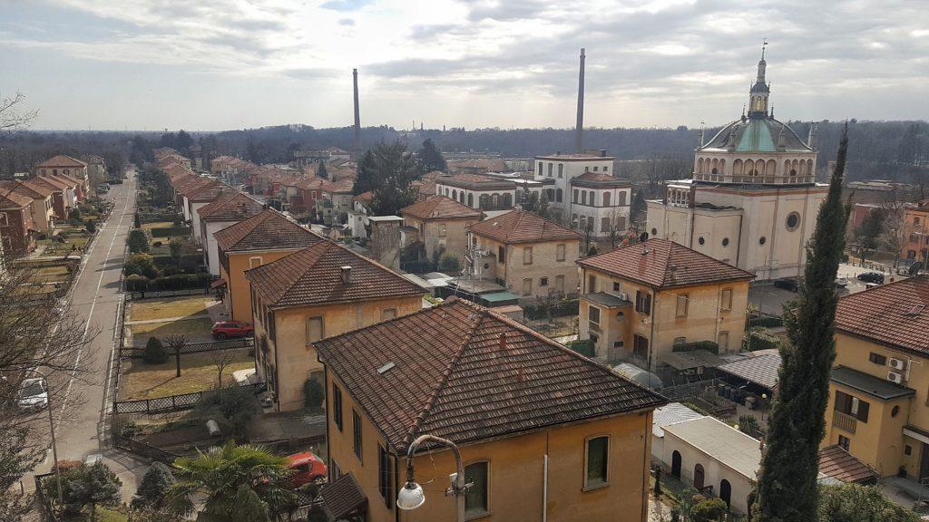 Patrimonio UNESCO in Lombardia: Villaggio operaio di Crespi d'Adda