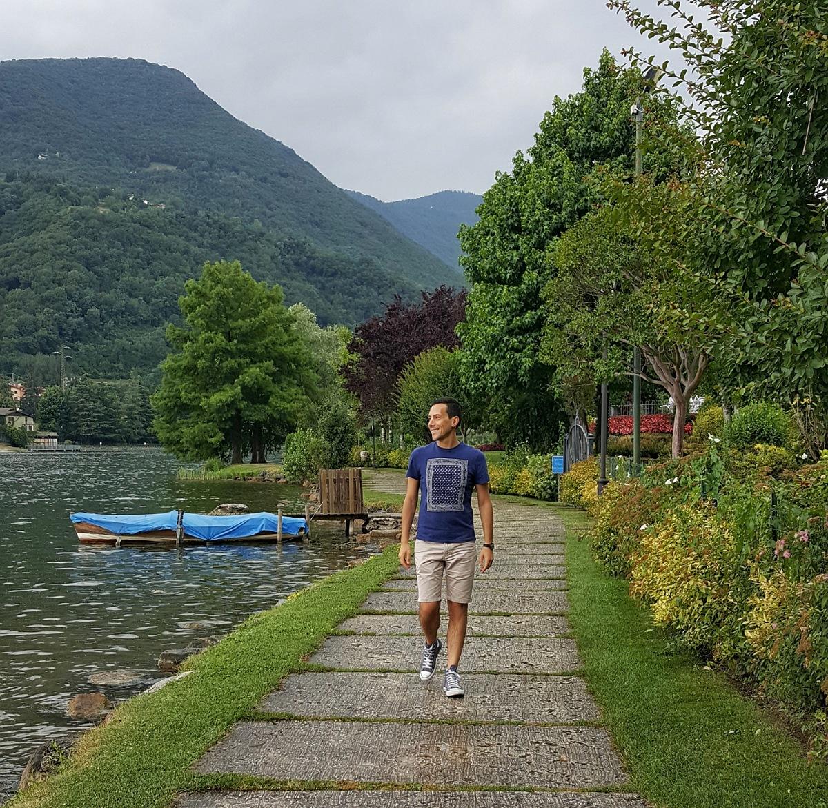 gita bergamo PASSEGGIATA aria aperta lago di endine passeggiata