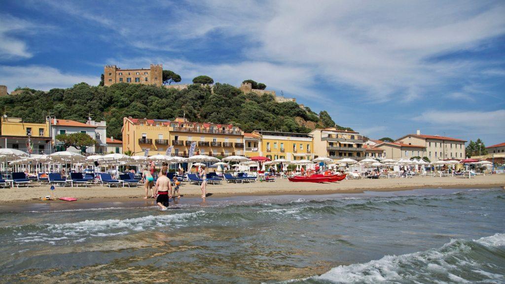 estate dove andare mare italia castiglione delal pescaia