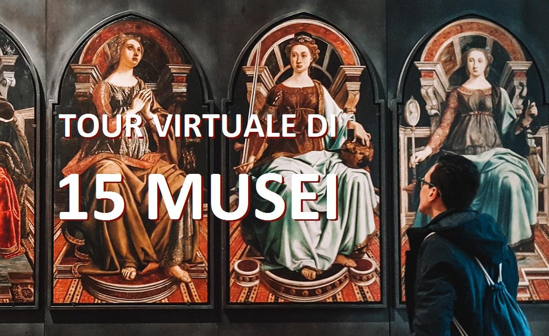 tour virtuale musei italiani mondo da casa