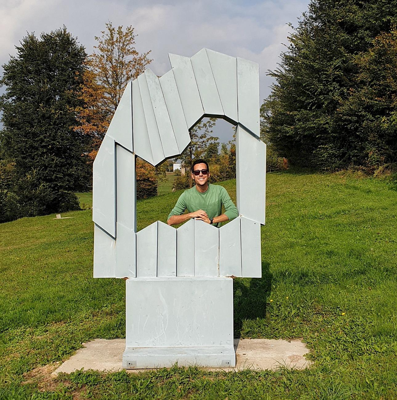 parco rossini art site arte contemporanea gita brianza