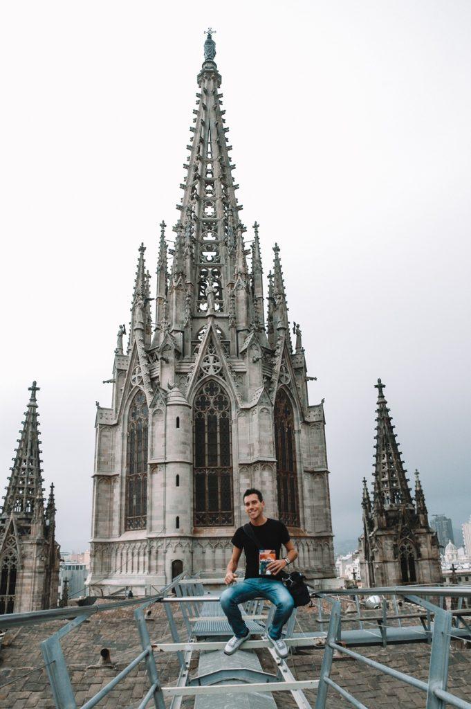 Barcellona instagram cattedrale tetto