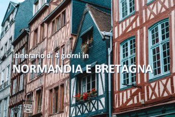 itinerario normandia bretagna 4 giorni