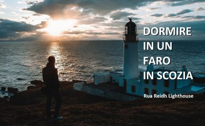 dove dormire in un faro in scozia highlands rua raid lighthouse