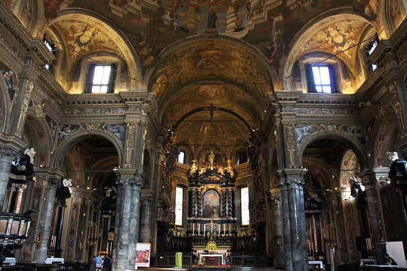 interno basilica gandino cosa vedere