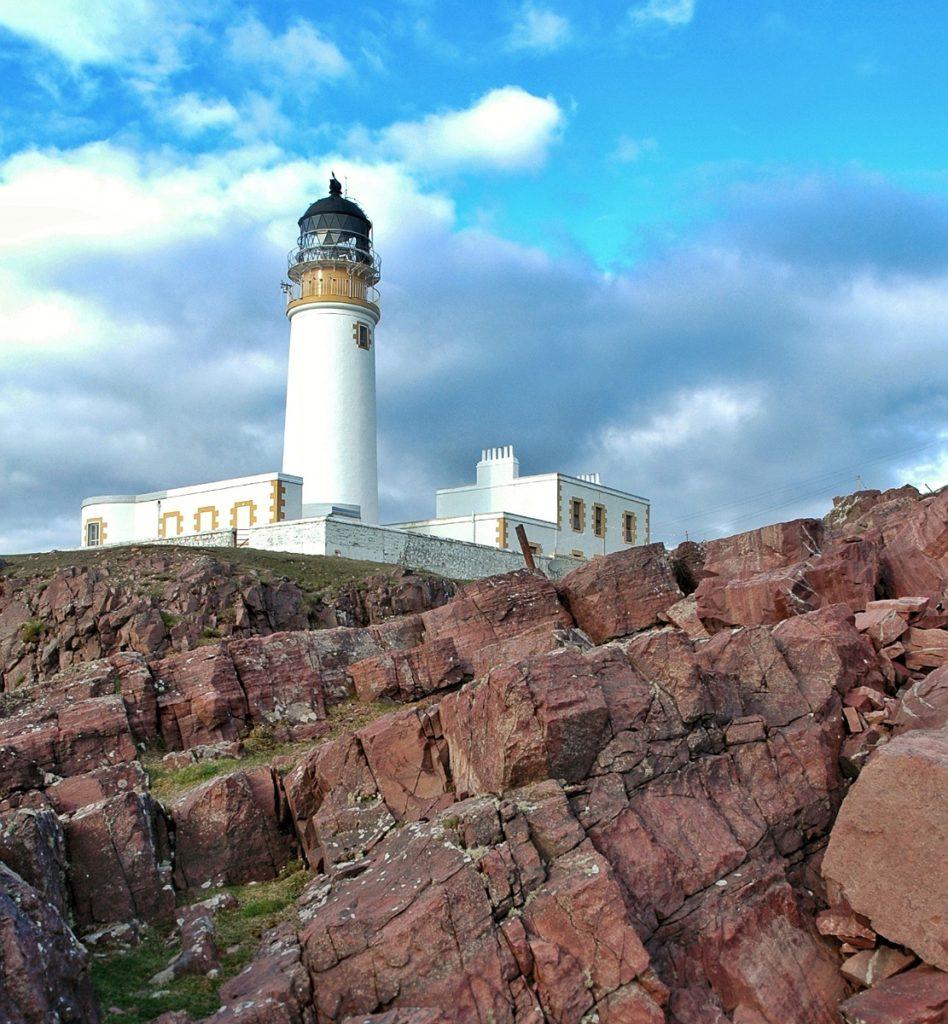 scogliera Rua Reidh Lighthouse