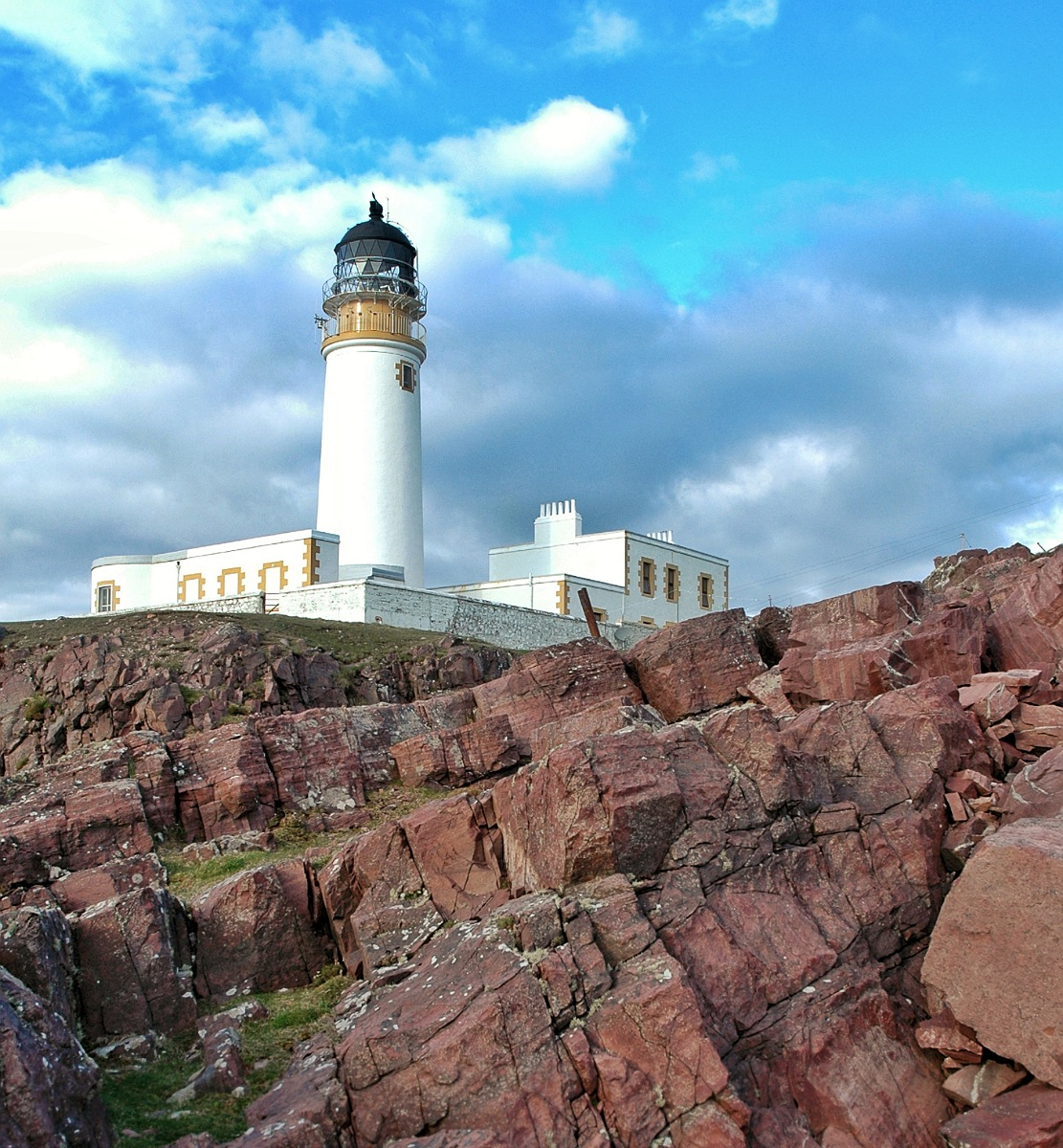 scogliera Rua Reidh Lighthouse