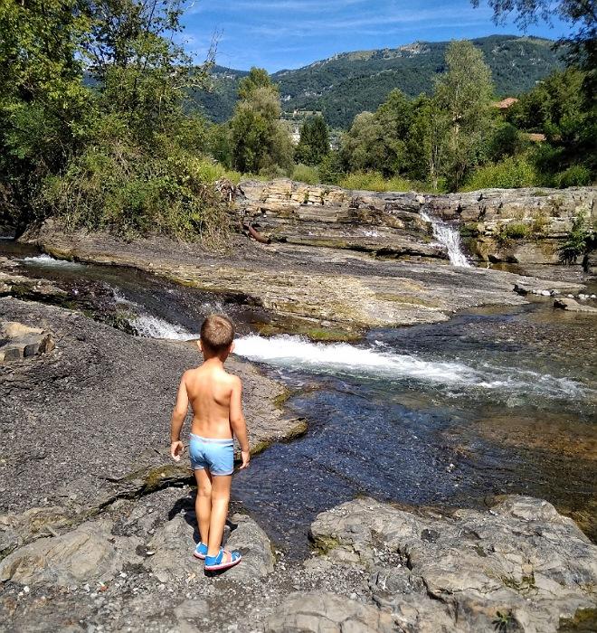 dove fare il bagno nel fiume in valle imagna