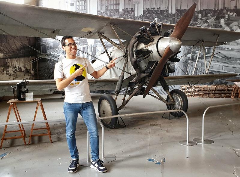 antichi aerei al museo del volo di somma lombardo varese